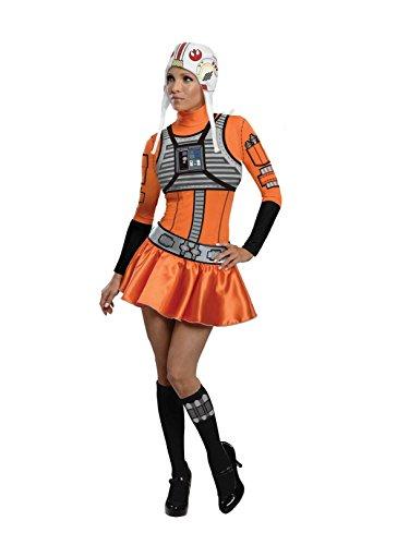 Rubie's Star Wars Womens Female X-Wing Fighter Costume (Medium) ()
