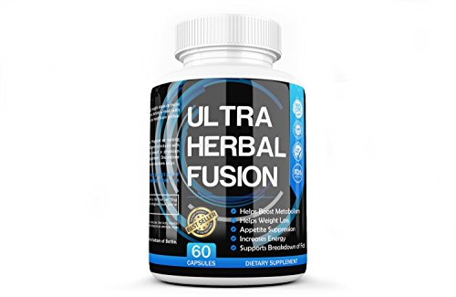 Weight Loss Pills By Ultra Herbal Fusion Supplements Products For Women Men | Scientifically Proven To Work Fast Help Burn Belly Fat 60 Count
