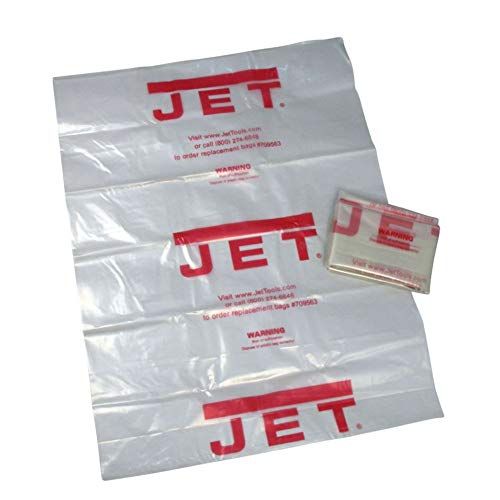 Jet 709563 CB-5 Clear Plastic Collection Bag