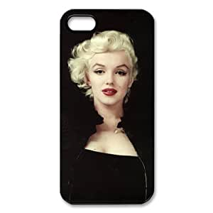 Marilyn Monroe iphone 5S,5 case Marilyn Monroe the most popular Personalized Hard Plastic Back Protective Case for iPhone 5/5S