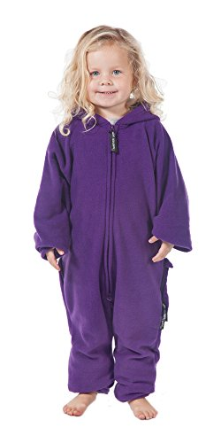 Forever Lazy Kids Onesie - Purple People Sleeper - XS