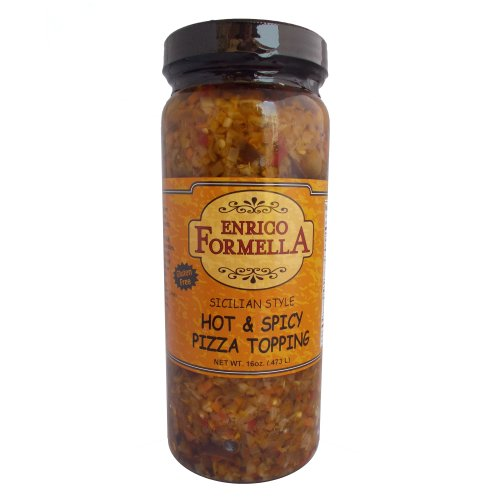 Enrico Formella Hot & Spicy Pizza Topping 16oz.