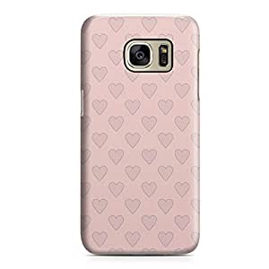 Samsung S7 Edge Case Heart Love Pattern Pattern Durable Metal Inforced Light Weight Samsung S7 Edge Cover Wrap Around 96