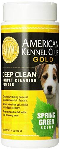 AMERICAN KENNEL CLUB GOLD Deep Clean Carpet Powder, 16-Ounce, Spring - Dog Paw Club Prints