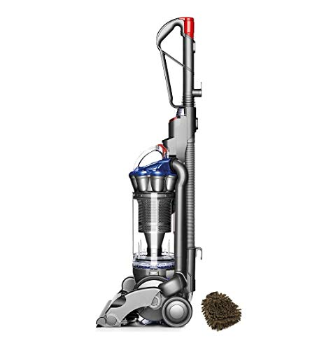 Dyson Bagless DC33 Multi-Floor Upright Vacuum Cleaner, Cyclone, Blue (Complete Set) w/Bonus: Premium Microfiber Cleaner Bundle