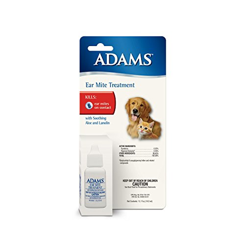 Adams Ear Mite Treatment - Ear Mites