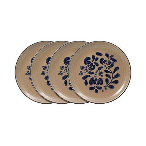 Pfaltzgraff Folk Art Luncheon Plate (8-1/2-Inch, Set of 4) - Pfaltzgraff Folk Art