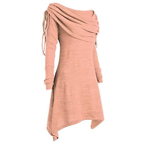 Naranja Mujer Para Giulogre women Camisas Tops n646X8q
