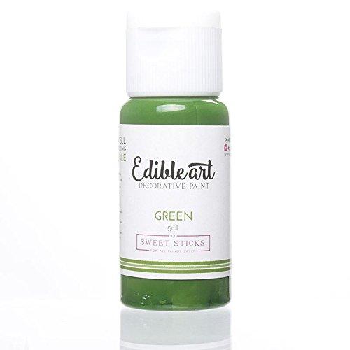 Edible Art Decorative Paint Green 15ml by Sweet Sticks (Image #8)