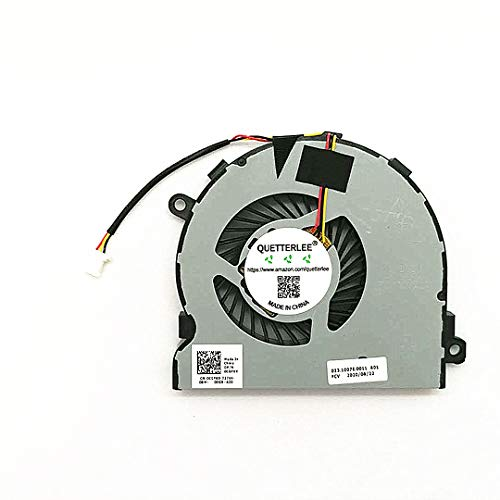 QUETTERLEE New CPU Cooling Fan for Dell Inspiron 15R 15MR-1528s 14MD-1628S 15-5000 5447 5445 5542 5543 5545 5547 5548 5448 5557 P39F P49G 5443 5441 5442 3467 3567 3576 5457 5447 Series 0CGF6X Fan