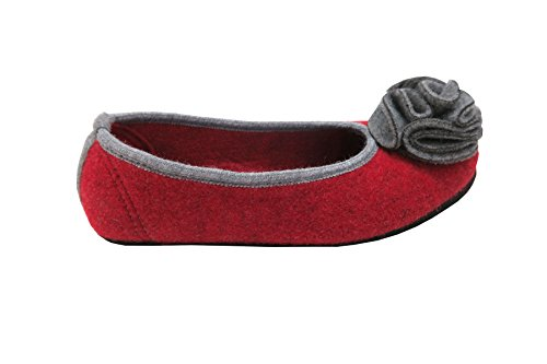 Slippers Red Open Hausballerina Oswald Women's Back Shoes qtwZCtnXx8