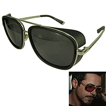 DP Design® Gafas de sol Steampunk Iron Man Stark Cosplay ...
