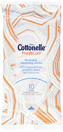 Cottonelle Fresh Flushable Moist Travel product image