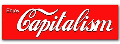 - Epicdelusion Enjoy Capitalism Bumper Sticker