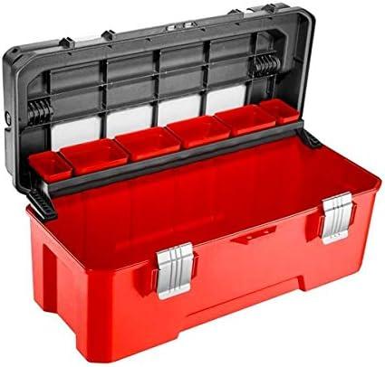 Facom BP.P26APB - Caja de herramientas de plástico (26 pulgadas, mango de aluminio): Amazon.es: Bricolaje y herramientas