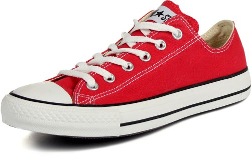 Converse Unisex Chuck Taylor All Star OX Sneaker (5.5 Men 7.5 Women, Red) by Converse