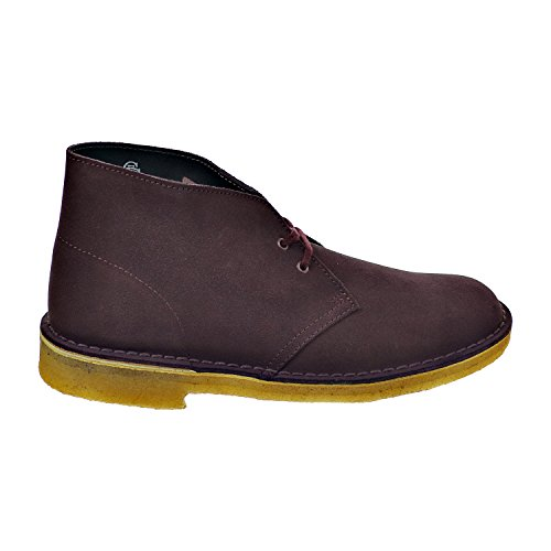 Clarks Mens Desert Boot Vino Scamosciato 26111465