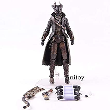 "Game Figma 367 Hunter Bloodborne 6/"" PVC Action Figure Toy Model In Box Statue"