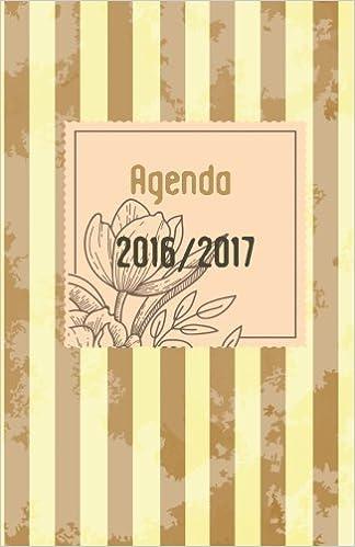 Agenda 2016 2017: interior a color (Volume 1) (Spanish ...