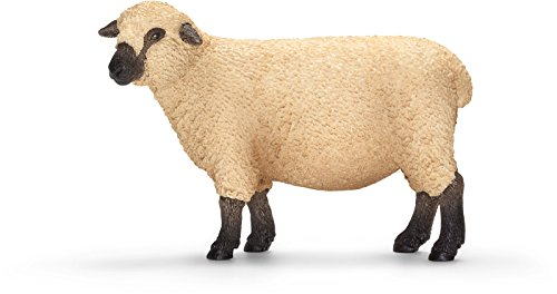 Schleich Shropshire Sheep Toy Figure (2015 Sheep Figurine)