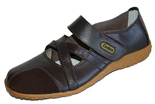 Confortable Taille En Chaussures 8 Marron Loafer Pour Premier Coolers Sandales Cuir wxTXUBq