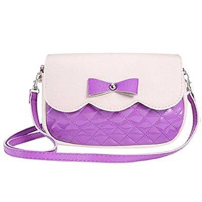 Bowknot Crossbody Bag,Hemlock Girl Shoulder Bag Tote Purse Handbag
