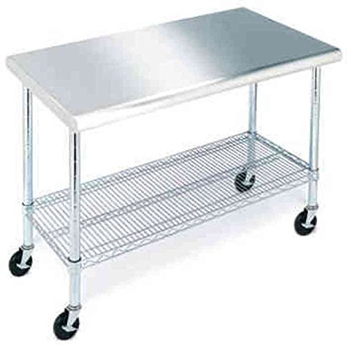 Stainless Steel Work Table - 49''