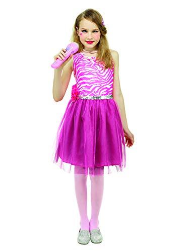 IDS 80's Pop Star Kids Dress Girls Dress