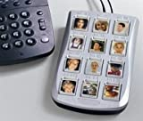 ONE-TOUCH PHOTO DIALER WITH BIG BUTTONS FOR ELDERLY, POOR VISION, CHILDREN
