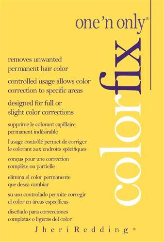 One 'n Only Color Fix with Argan Oil Review