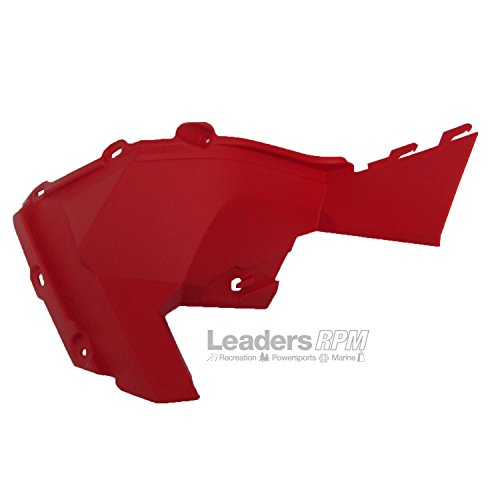 Ski-Doo New OEM Side Bottom Panel Molding RED LH REV-XP 517304427