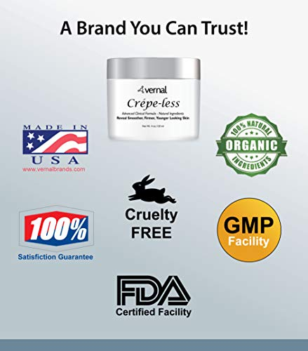 41 %2BMxWdRIL - Crepe-less skin firming cream to repair crepey arms and neck. Best tightening cream to erase crepy skin on arms, neck and body. Best moisturizer to treat saggy, crepe skin. Made in USA