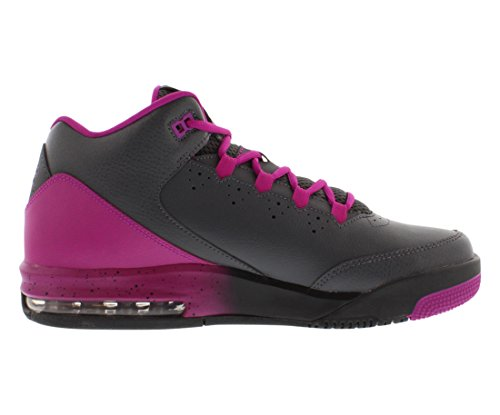 Nike Air Jordan Flight Origin 2GG Hi Top Trainers 718075Zapatillas zapatos dark grey black fuchsia flash 006