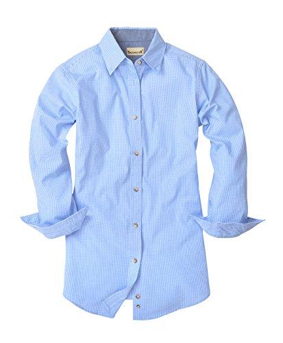Button Micro Check Shirt - 4
