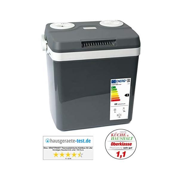 41 %2BNbMo69L Dino KRAFTPAKET 13100Elektrische Kühlbox Thermoelektrische Thermobox