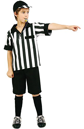 Preteen Referee Boy Costume (Kids Referee Costume)