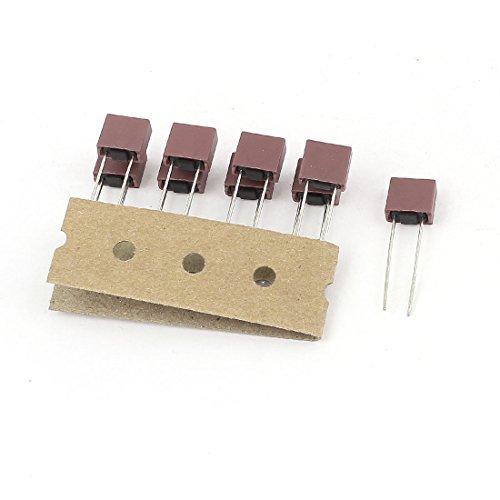 10 Stü ck T2A 2A 250V TE5 / 5TE Miniatur Micro Trä ge Sicherung DealMux