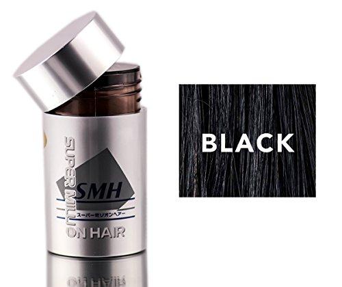Super Million Hair Enhancement Fibers - Black - 0.35 oz