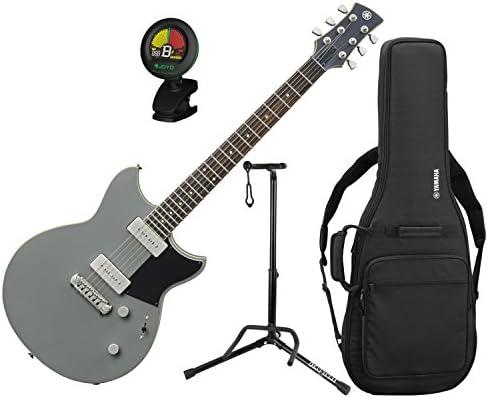 Yamaha rs502 BLg revstar double-cutaway cuerpo de caoba Billet verde guitarra eléctrica w/funda, soporte, y sintonizador: Amazon.es: Instrumentos musicales