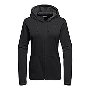 The North Face Women's Fave Lite LFC Full-Zip Hoodie TNF Black and Asphalt Grey - L