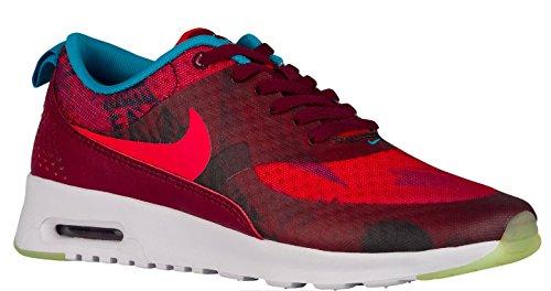 Nike Women's Air Max Thea Print N7 - Limited Release! (9, Deep Garnet/University Red/Black/Dark Turquoise)