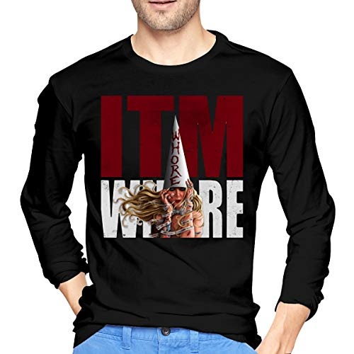 GabrielR Men's in This Moment Maria Brink Whore Long Sleeve T-Shirts Black M -
