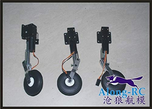 Jammas Sell:40g Retractable Landing Gear with Kneeling Landing Gear Wheel for RC Model Airplane WWII Plane Fighter - (Color: Three)