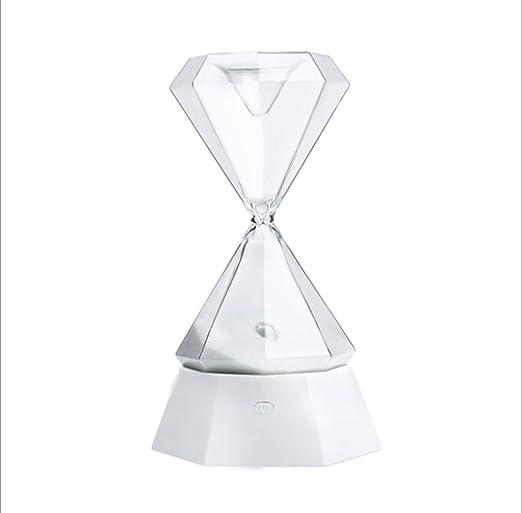 Luz de noche de reloj de arena de cristal/luz de yoga/USB ...