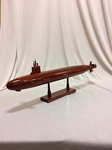 V.A. Class Submarine Replica Model Hand Crafted with real Mahogany wood (Submarine Mahogany Wood Model)