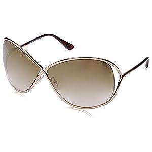 Tom Ford Women's FT0130 Sunglasses, Shiny Rose Gold
