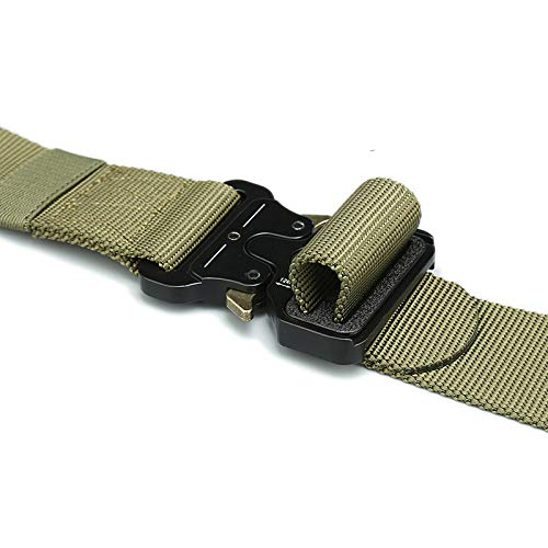 HeroStore Wide 4.3cm Nylon Metal Tactical Gear Heavy Duty Belts Padded Patrol Waist Outdoor Hiking Climbing Hunting Load Bearing Belt 20 by HeroStore (Image #6)