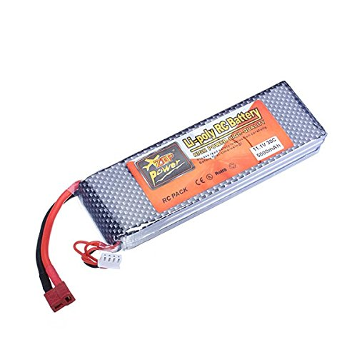 MAUBHYA ZOP Power 11.1V 5000mAh 3S1P 30C Lipo Battery For RC Model T Plug by MAUBHYA