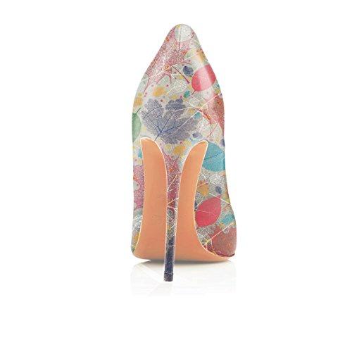 c Chiuse Eleganti Scarpe Donna Multi da Tacco Scarpe col Scarpe Donna Donna Soireelady gqpaBUnw