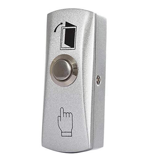 BSTUOKEY Zinc Alloy GATE Door Exit Button Exit Switch for Door Access Control System Door Push Exit Door Release Button Switch (Z30 Button) / BSTUOKEY Zinc Alloy GATE Door Exit Button Exit Switch for Door Access Control System Door...